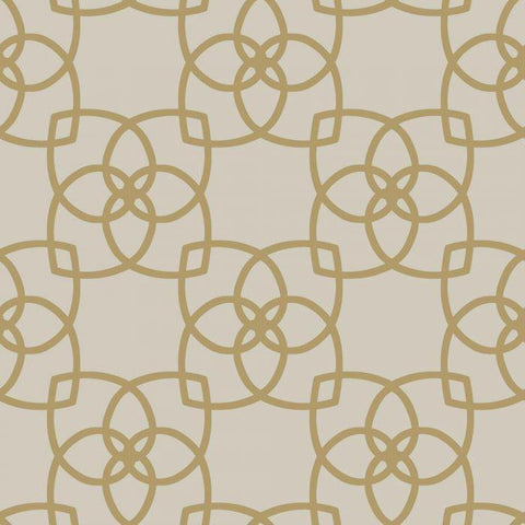 Y6200202W1 Serendipity Geometric Unpasted Wallpaper