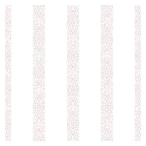 KI0505 Ballerina Stripe Prepasted SureStrip Wallpaper - wallcoveringsmart