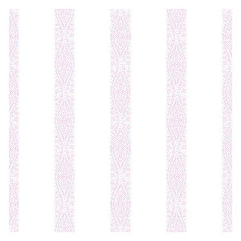 KI0507 Ballerina Stripe Prepasted SureStrip Wallpaper