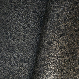 M4040 Modern Black Gray Natural Mica rustic Big Chip Stone silver glitter Wallpaper