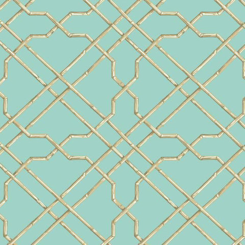 AT7077 Bamboo Trellis Sure Strip Wallpaper