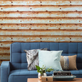 V322-05 Wood Planks Board Horizontal Wallpaper