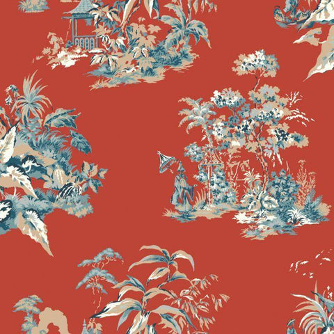AF1991 Oriental Scenic Sure Strip Wallpaper - wallcoveringsmart