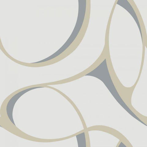 Y6200106 Elliptical Unpasted Wallpaper - wallcoveringsmart