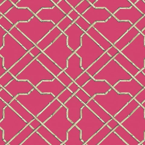 AT7079 Bamboo Trellis Sure Strip Wallpaper - wallcoveringsmart