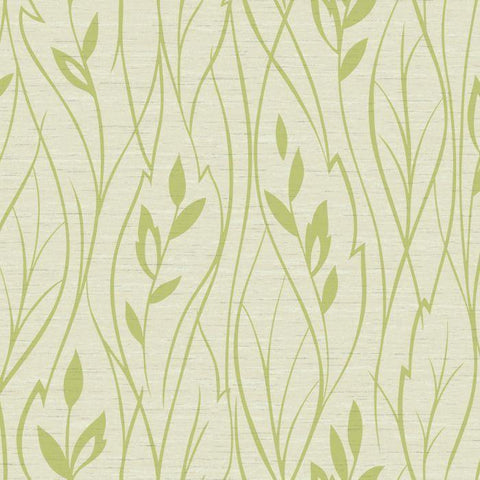Y6200801W2 Leaf Silhouette Unpasted Wallpaper - wallcoveringsmart