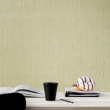 75805 Orange Yellow Faux Grasscloth Textured Wallpaper
