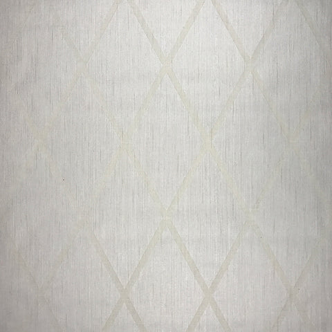 175020 Diamond Flocking Velvet Cream Portofino Wallpaper