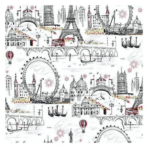 BL0436 Novelty Euro Scenic Prepasted SureStrip Wallpaper - wallcoveringsmart