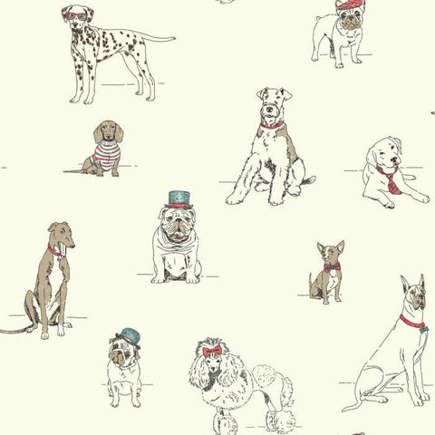 AF1939 Dog's Life Sure Strip Wallpaper