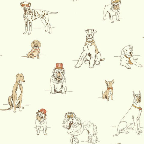 AF1940 Dog's Life Sure Strip Wallpaper