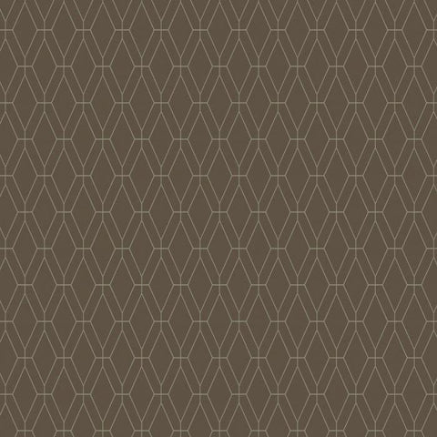 GE3648 Diamond Lattice Unpasted Wallpaper