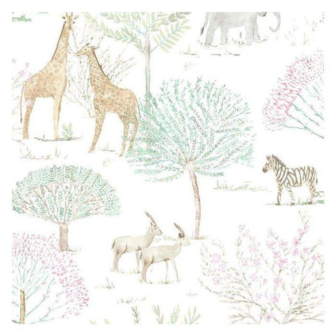 KI0540 On The Savanna Prepasted SureStrip Wallpaper