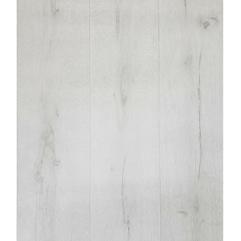 WM51440701 Textured white gray faux rustic wood wide boards plank Wallpaper