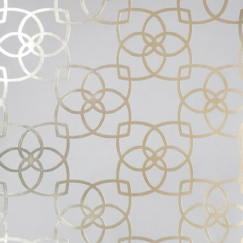 WM70137001 Geometric lines modern tan gold metallic Textured 3D Wallpaper