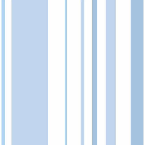 DI0908 York Disney and Pixar Toy Story 4 Owen's Stripe Unpasted Blue Wallpaper