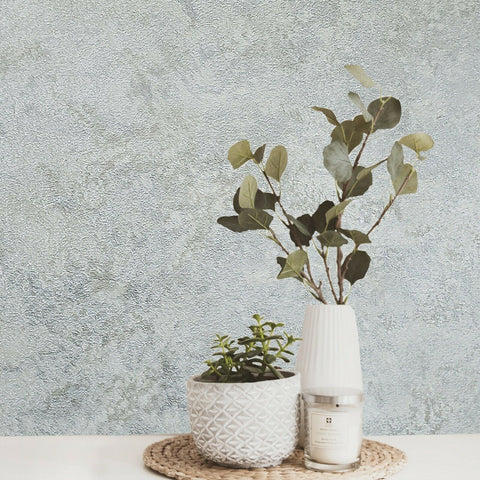 Z63043 Zambaiti Plain foil silver gray metallic tan faux silk textured Wallpaper