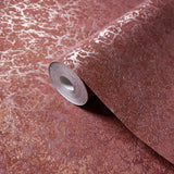 8565-13 Red Orange Lava Cracked Wallpaper
