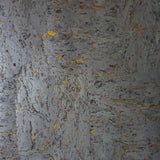 WM0884 Silver Gold Natural Cork Wallpaper