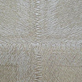 300035 Portofino Gold Metallic Square Stitch Textured Wallpaper