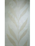 165013 Wallpaper ivory cream Textured Flocking tree tropical plant leaves