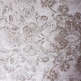 76002 Metallic Rose Pink Undertone Floral Wallpaper