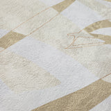 300000 Wallpaper yellow Gold metallic Abstract Palm Leaf Textured