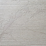 125033 Cream Striped Textured Off White Wallpaper - wallcoveringsmart