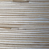 WM3302724 Natural Grasscloth Silver Metallic beige Wallpaper