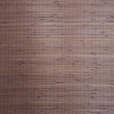 WM118-74 Wallpaper Natural Grasscloth Textured Wide Chunky Bamboo Purple