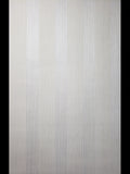 175006 Striped Ivory off White Gray Flock Stripes Wallpaper