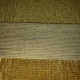 175026 Striped Flocked Wallpaper yellow Gold metallic Textured Flocking Velvet Stripes