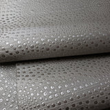 WM162209043 Metallic Silver Gray Dot Wallpaper