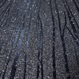 Z206 Zebra Natural Real Mica Sparkle Vermiculite Charcoal Grey Black Modern Wallpaper
