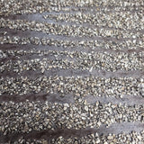 Z204 Mica chip stones Brown Modern Natural Wallpaper Vermiculite Lines - wallcoveringsmart