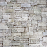 5636-04 Wallpaper textured olive Green Gray modern faux stone 3D