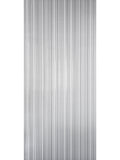 Vintage Style paper Textured Wallpaper gray silver metallic stria lines