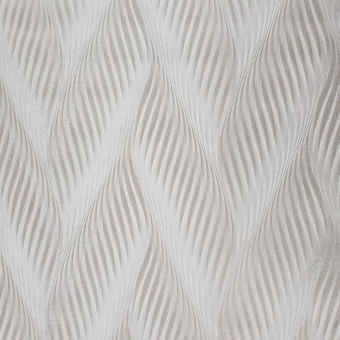 Z41222 Zig zag wave Neutral tan taupe bronze metallic faux fabric textured Wallpaper - wallcoveringsmart