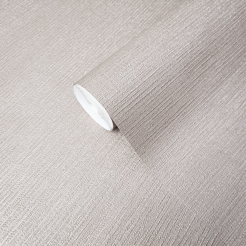 WMBA22003401 Plain Modern Taupe tan faux fabric textured Wallpaper