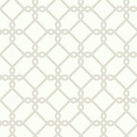 SW7493 Threaded Links Sure Strip Wallpaper