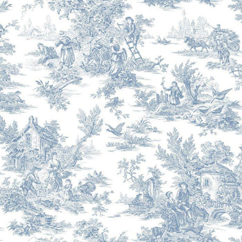 AT4229 Campagne Toile Sure Strip Wallpaper - wallcoveringsmart