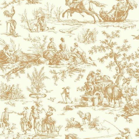AF2001 Seasons Toile Sure Strip Wallpaper