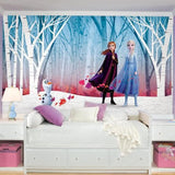 RMK11415M Disney Frozen 2 Woodland Tree Peel and Stick Wall Mural