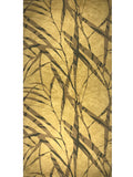 300006 Gold Palm Leaf Abstract Portofino Wallpaper