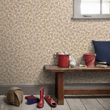 34902-1 Vasmara Beige Cream Taupe Wallpaper - wallcoveringsmart