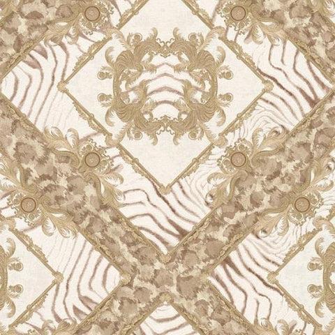 34904-1 Vasmara Beige Off-white Taupe Wallpaper - wallcoveringsmart