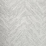 5683-10 Zig Zag textured white gray silver metallic chevron Wallpaper
