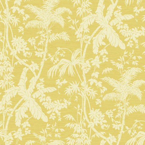 AT7109 Palm Shadow Sure Strip Wallpaper - wallcoveringsmart