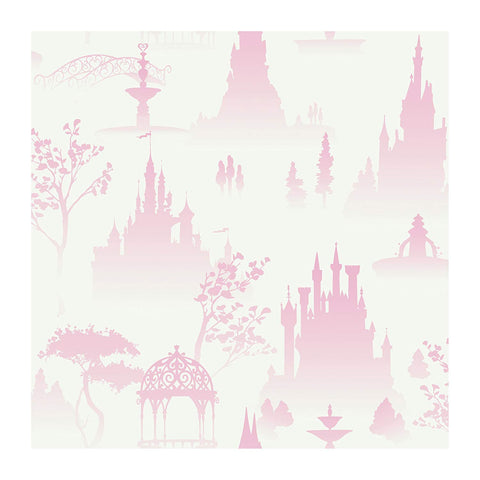 DK5986 Disney Kids Scenic Princess Toile Wallpaper