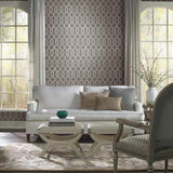 Y6221202 Viva Lounge York Mid Century Contemporary dark Silver Gray Wallpaper - wallcoveringsmart